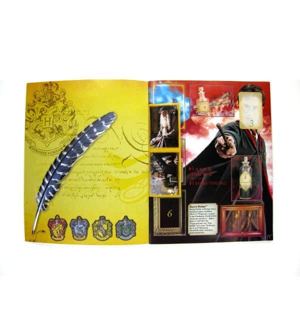 Panini Harry Potter Half-Blood Prince Stickeralbum - Inner Page Spells