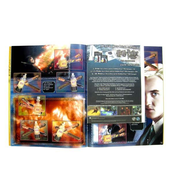 Panini Harry Potter Half-Blood Prince Stickeralbum - Order Form