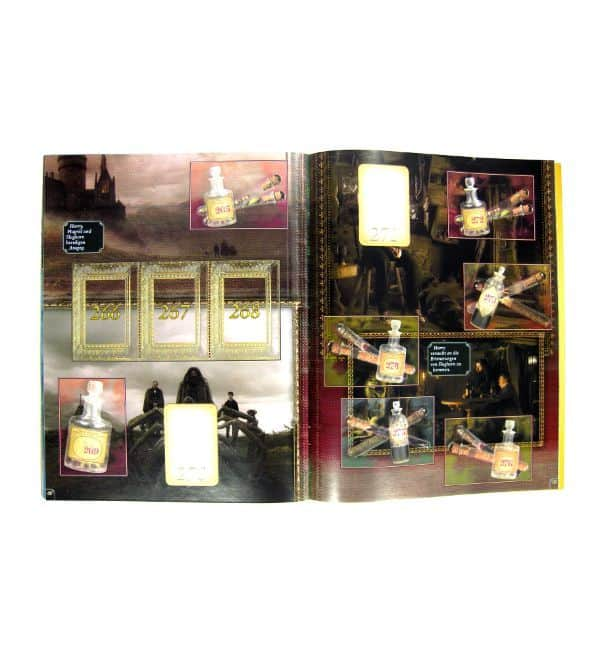 Panini Harry Potter Half-Blood Prince Stickeralbum - Inner Page Hogwarts