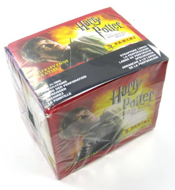 Panini Harry Potter Half-Blood Prince Display - Box Sideview