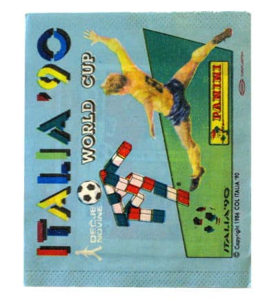 Panini Italia 90 Packet Version Yugoslavia Decje Novine