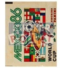 Panini Mexico 86 Packet - Display Version World Cup 1986