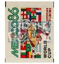 Panini Mexico 86 Packet -  Free Version World Cup 1986