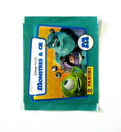 Panini Monsters Inc. Packet