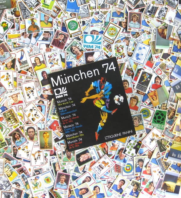 Panini Munich 74 - All 400 Stickers + Album
