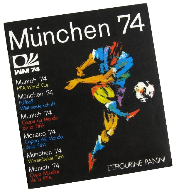 Panini Munich 74 - Empty Album