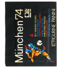Panini Munich 74 Packet - Original World Cup 1974