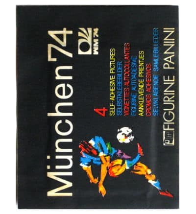 Panini Munich 74 Packet Original