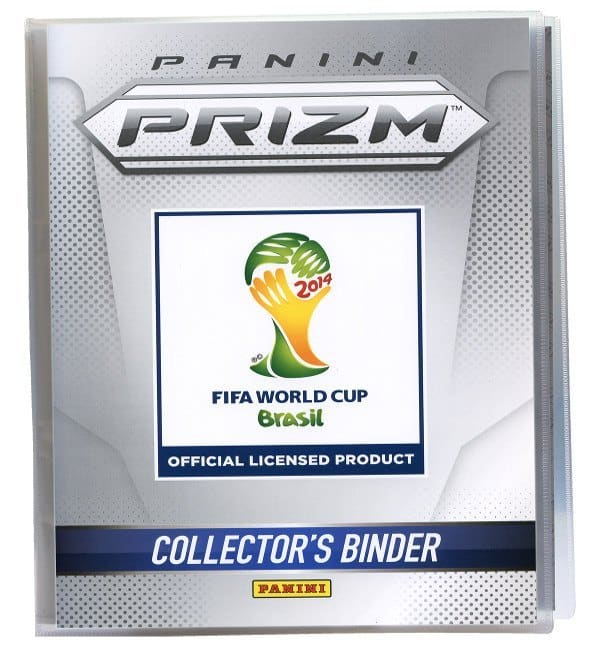 Panini Prizm Cards World Cup Brasil 2014 Display Open