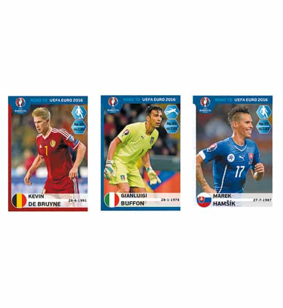 Panini Road to Euro 2016 Stickers