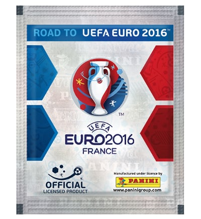 Panini Road to Euro 2016 Sticker Packet