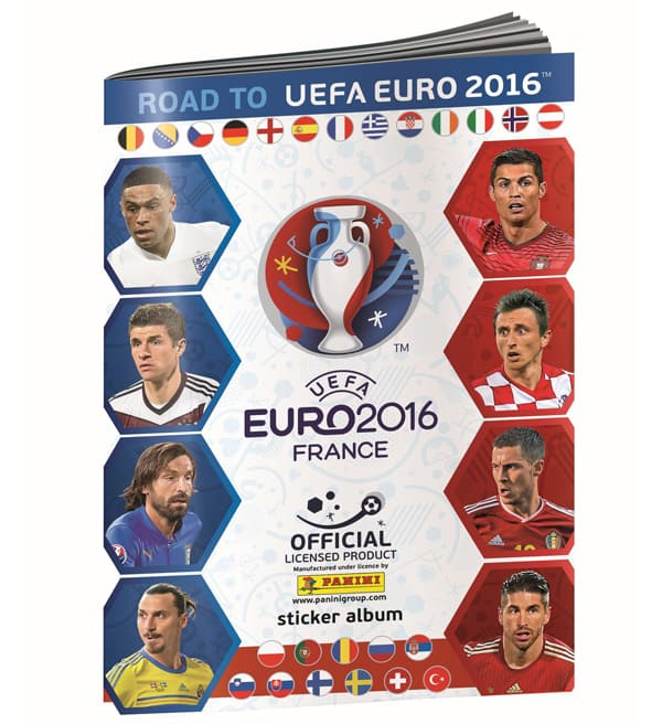 Panini Road to Euro 2016 Sticker Album