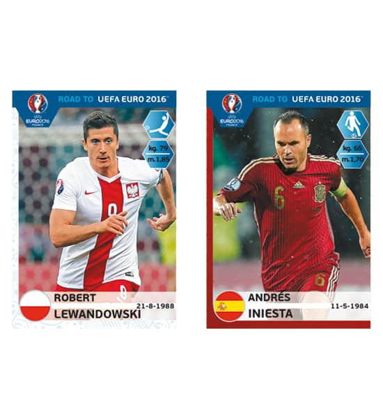 Panini Road to Euro 2016 Collectors Stickers