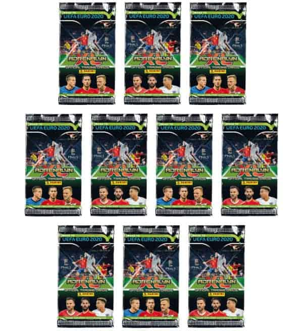 Panini Road to Euro 2020 Adrenalyn XL - 10 packets