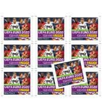Panini Road to Euro 2020 Stickers - 10 Packets