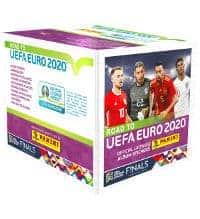 Panini Road to Euro 2020 Stickers Box With 50 Packets
