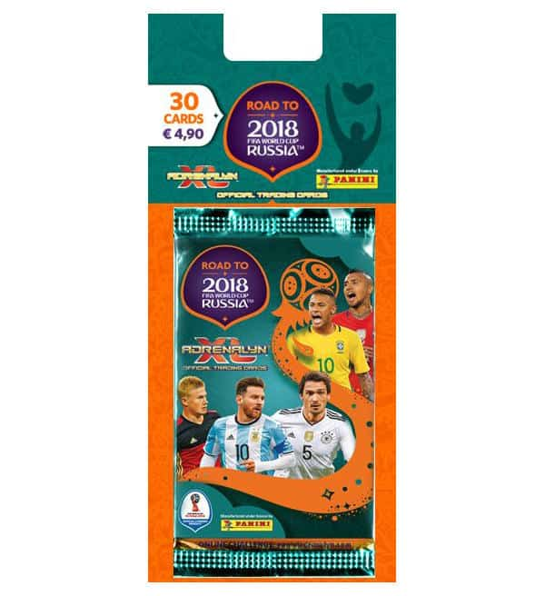 Panini Road to Russia 2018 Adrenalyn XL Blister