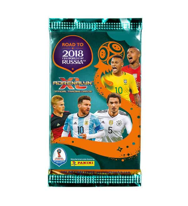 Panini Road to World Cup 2018 Adrenalyn XL booster