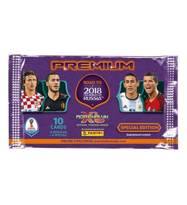 Panini Road to Russia 2018 Adrenalyn XL Premium Booster