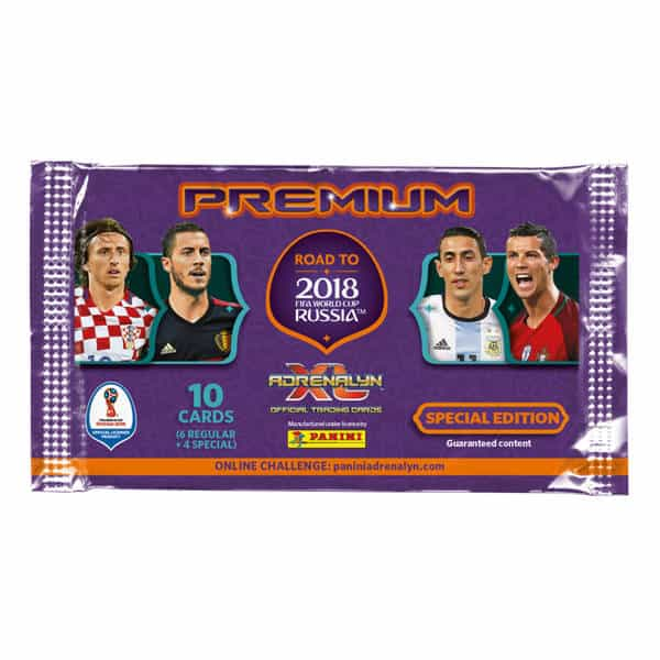 Panini Road to World Cup 2018 Adrenalyn XL Premium packet