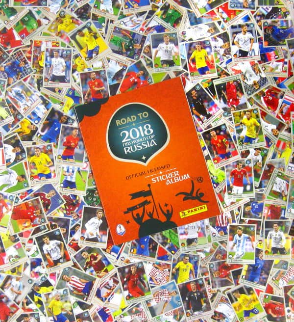 b190068a5 Panini Road to World Cup 2018 - All 480 Stickers + Album, Stickerpoint