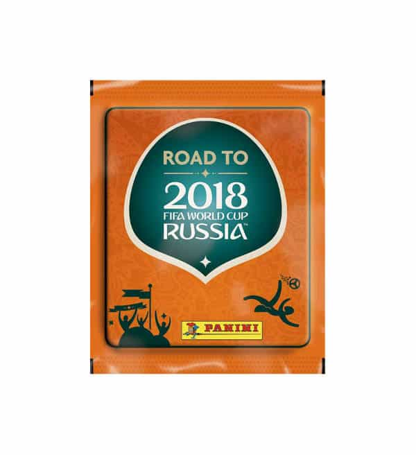 Panini Road to World Cup 2018 Stickers Packet