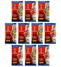 Panini World Cup 2018 Adrenalyn XL - 10 Booster