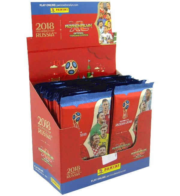 Panini Russia 2018 Adrenalyn XL Display  - 50 Booster