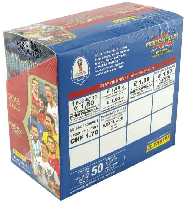 Panini World Cup 2018 Adrenalyn XL Display Price