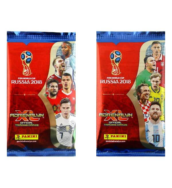 Panini World Cup 2018 Adrenalyn XL Packets