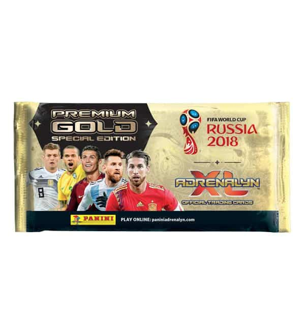 Panini World Cup 2018 Adrenalyn XL Premium Gold Packet