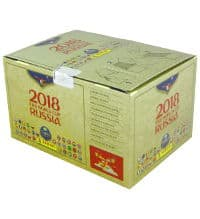Panini World Cup 2018 Stickers - Gold Edition Box