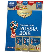 Panini World Cup 2018 Stickers - Hardcover Starterpack