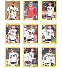 Panini World Cup 2018 - Special Stickers M1 to M9