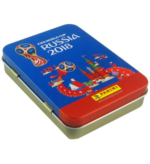 Panini World Cup 2018 Stickers - Pocket Tin