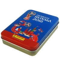 Panini World Cup 2018 Stickers - Tin made of metal