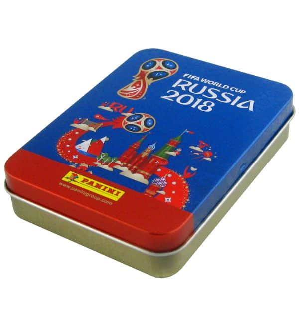 Panini World Cup 2018 Stickers - Tin