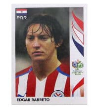 Panini World Cup 2006 Update Sticker - Edgar Barreto