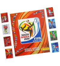 Panini WC 2010 Album South America + Special Stickers A-H