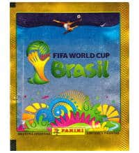 Panini World Cup Brasil 2014 Packet Gold Argentina