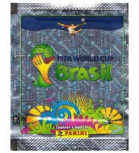 Panini World Cup Brasil 2014 Packet Silver Brazil