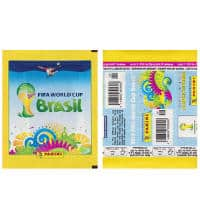Panini Brazil 2014 Packet Yellow - Horizontal Version