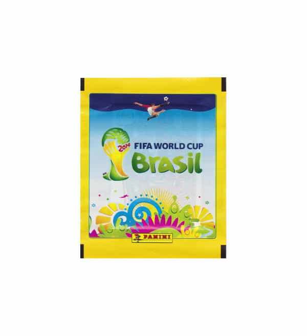 Panini Brazil 2014 Packet Yellow Front