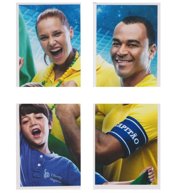 Panini WC 2014 Special Stickers L1 To L4