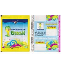 Panini Brazil 2014 Packet Yellow - Without Barcode