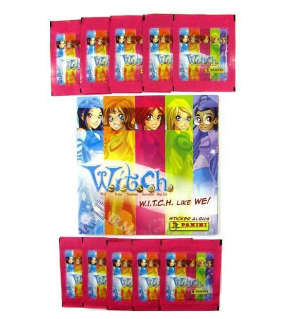 Panini Witch like we Album - with 10 Packets