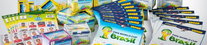 Panini WC World Cup Brasil 2014
