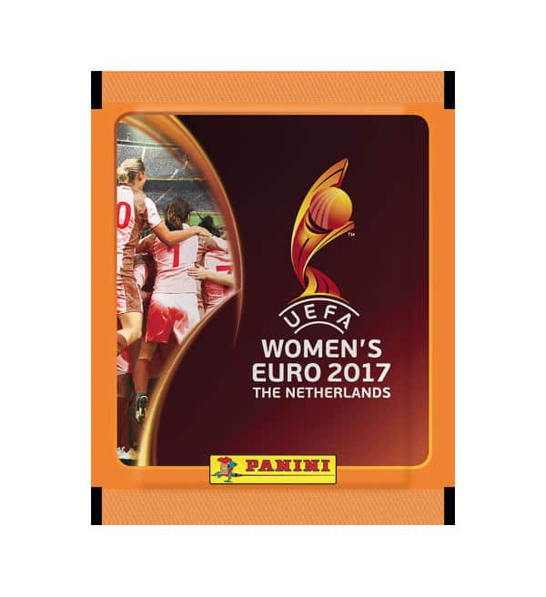 Panini Women's EURO 2017 sticker packet