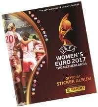 Panini Women's EURO 2017 Stickers Album