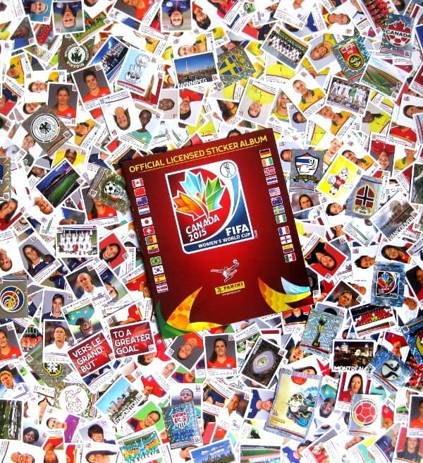 Panini WC Canada 2015 - All Stickers + Album